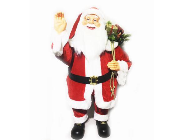 Babbo Natale Musicale.Babbo Natale 81 Cm Musicale 382966 Flli Crispino